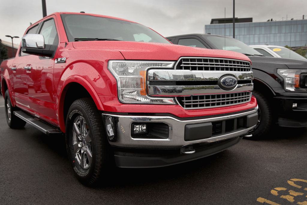 ford f series most popular cars
