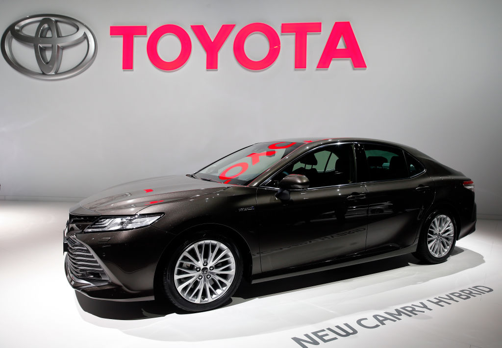 toyota camry best selling traditional car