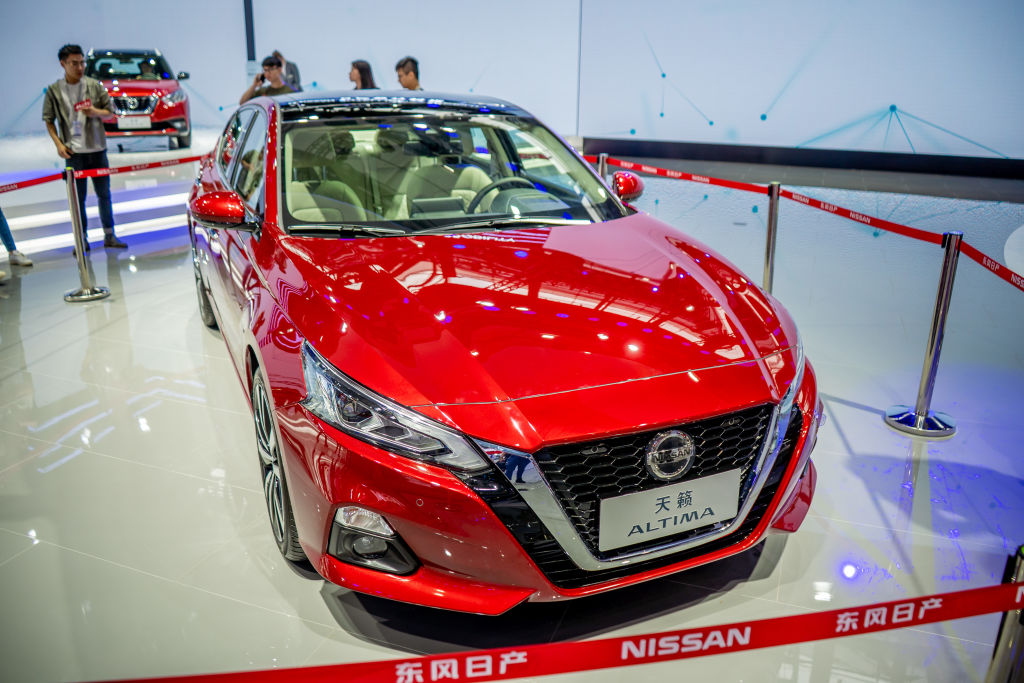nissan altima best selling cars