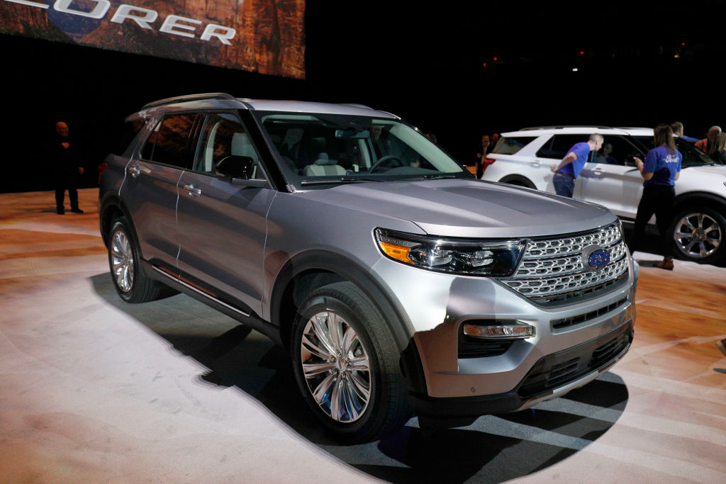 ford explorer most popular cars