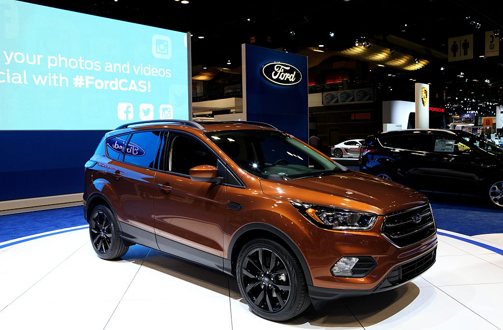 ford escape most popular cars