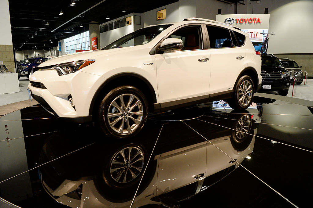 toyota rav4 best selling cars list
