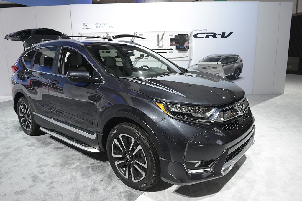 honda cr-v best selling car list