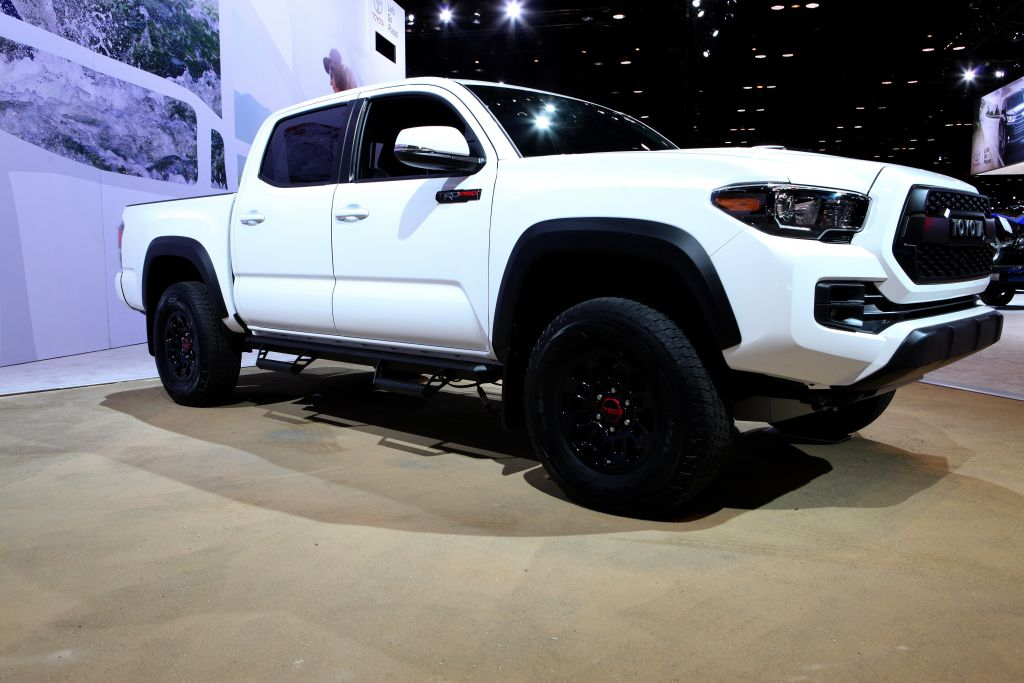 toyota tacoma best selling vehicles