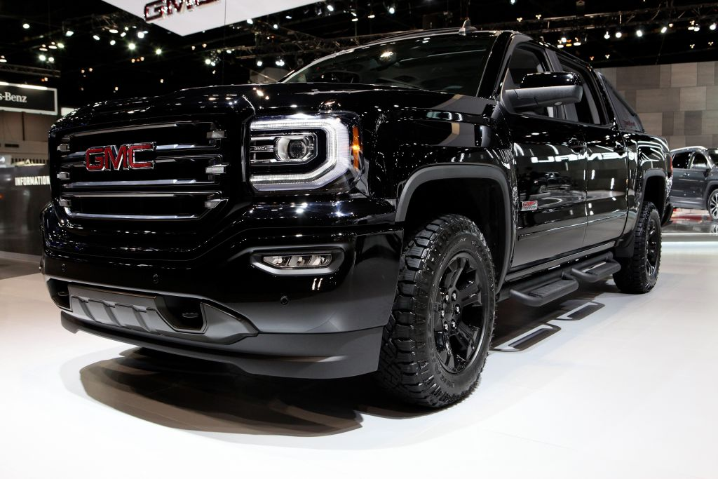 gmc sierra best selling car