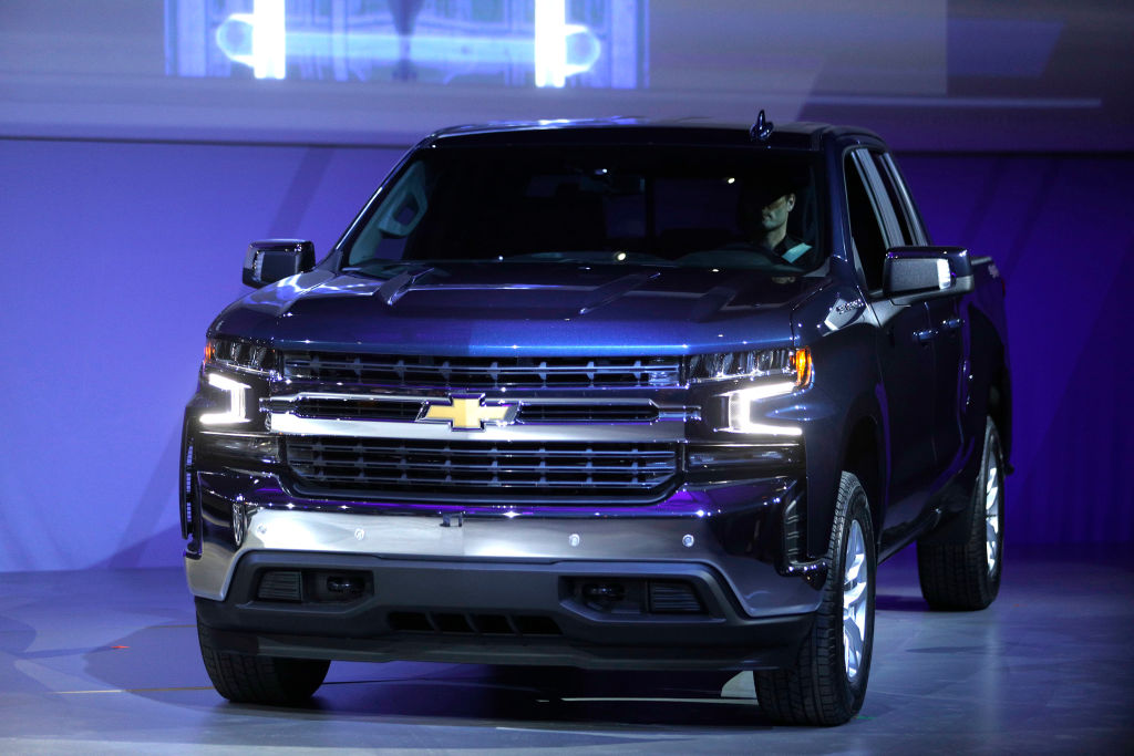 chevy silverado best selling car united states