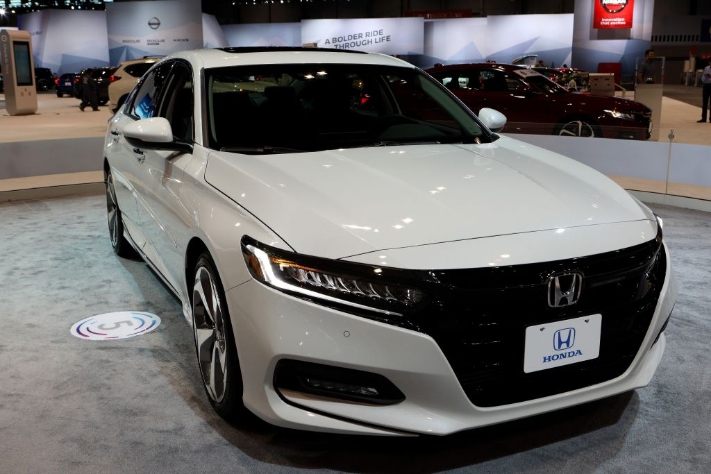 honda accord most popular cars