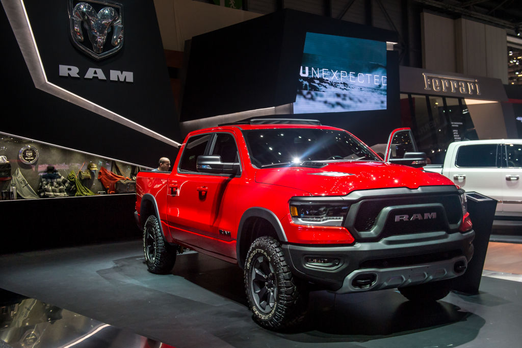 dodge ram pick up most popular cars