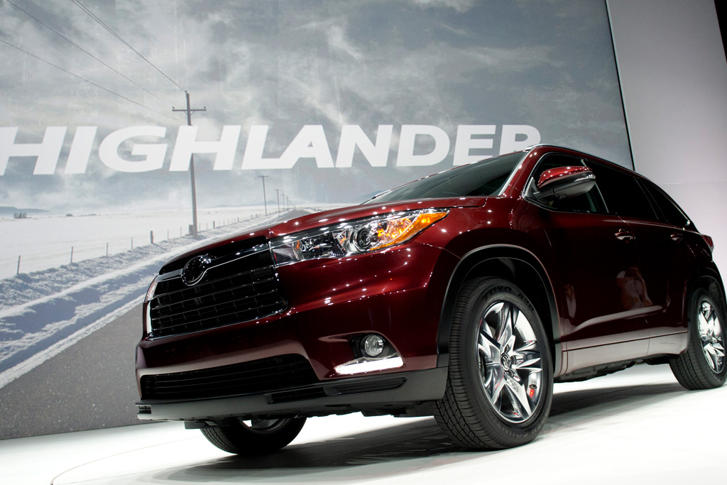 toyota highlander best selling cars