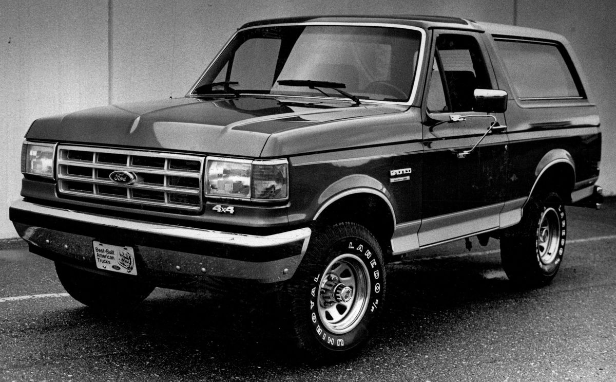 ford bronco ii worst cars ever made
