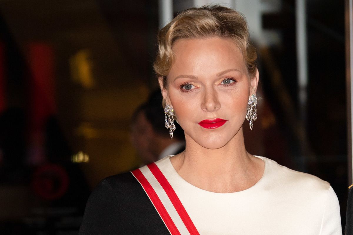 Princess Charlene of Monaco attends a Gala