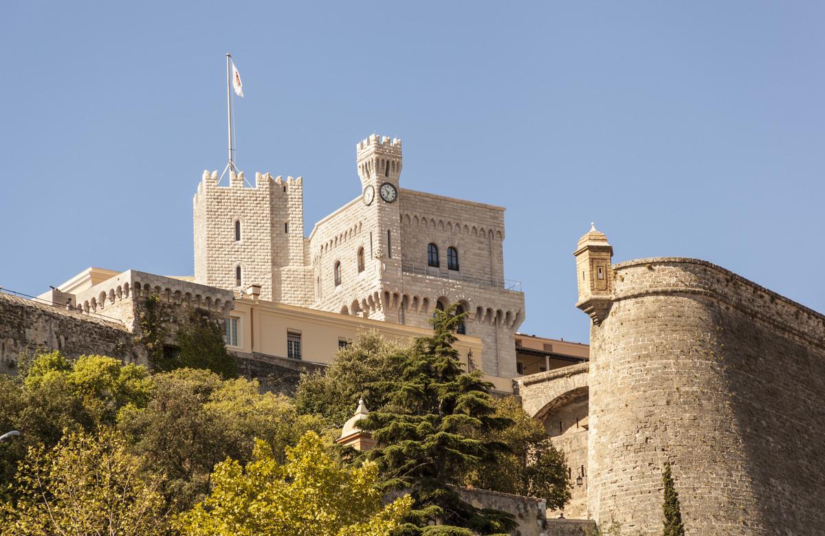 Princeês Palace, Palais Princier, Monaco-Ville, Monaco, Cote DêAzur, France