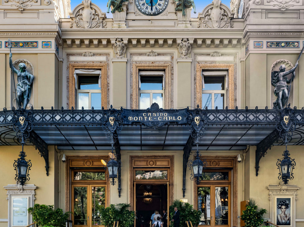 Princess Caroline opened the casino monte carlo in 1863