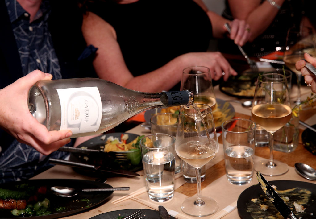 wine bottle second cheapest in restaurant