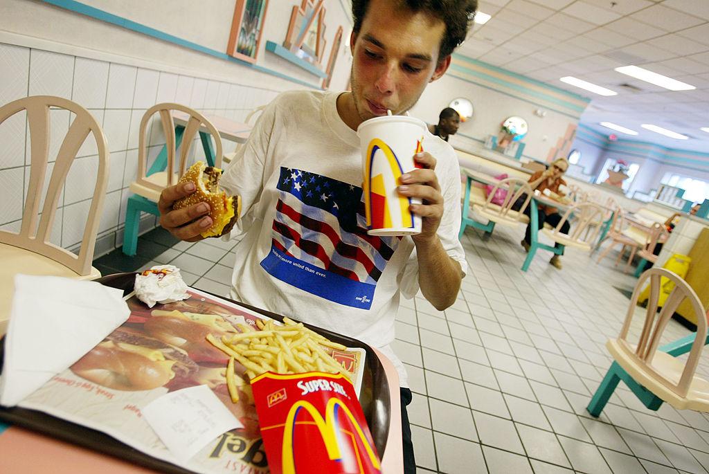 supersized meal restaurant mcdonalds bracketing