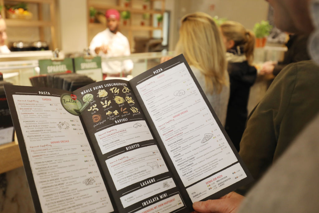 boxes in menu restaurant tricks