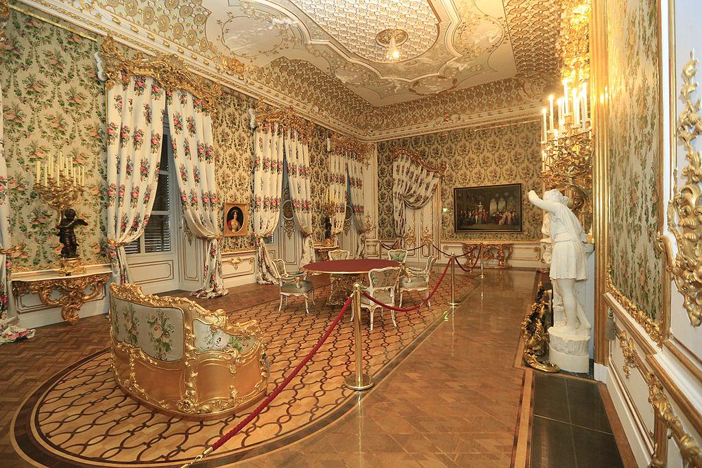 The Liechtenstein City Palace was nearly destroyed in world war 2
