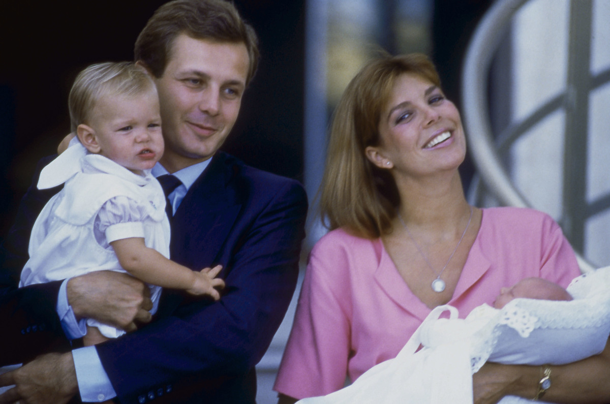 Princess Caroline of Monaco and her second husband Stefano Casiraghi