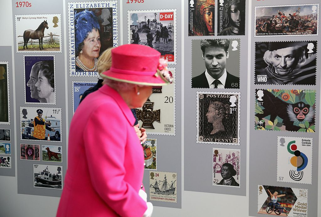 queen elizabeth's stamp collection has many rare pieces