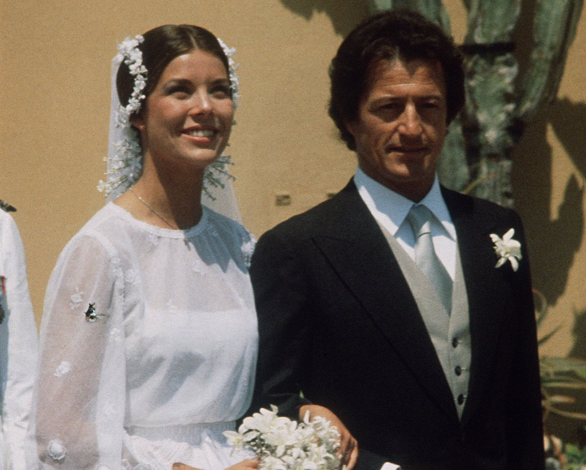 Princess Caroline of Monacco and Phillipe Junot wedding