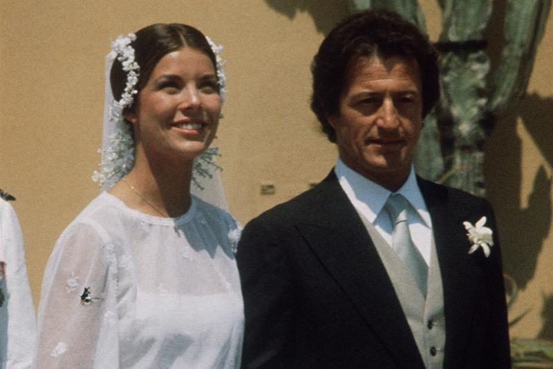 Princess Caroline of Monacco and Phillipe Junot wedding