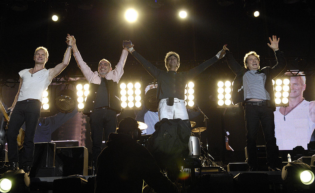 the police reunion