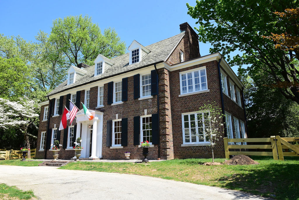 grace kelly's childhood home is in pennsylvania