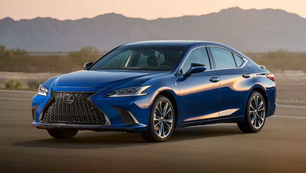 lexus hero is know for being incredibly safe