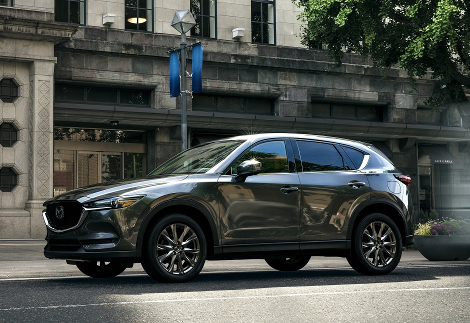 the mazda cx5 has won several awards for safety