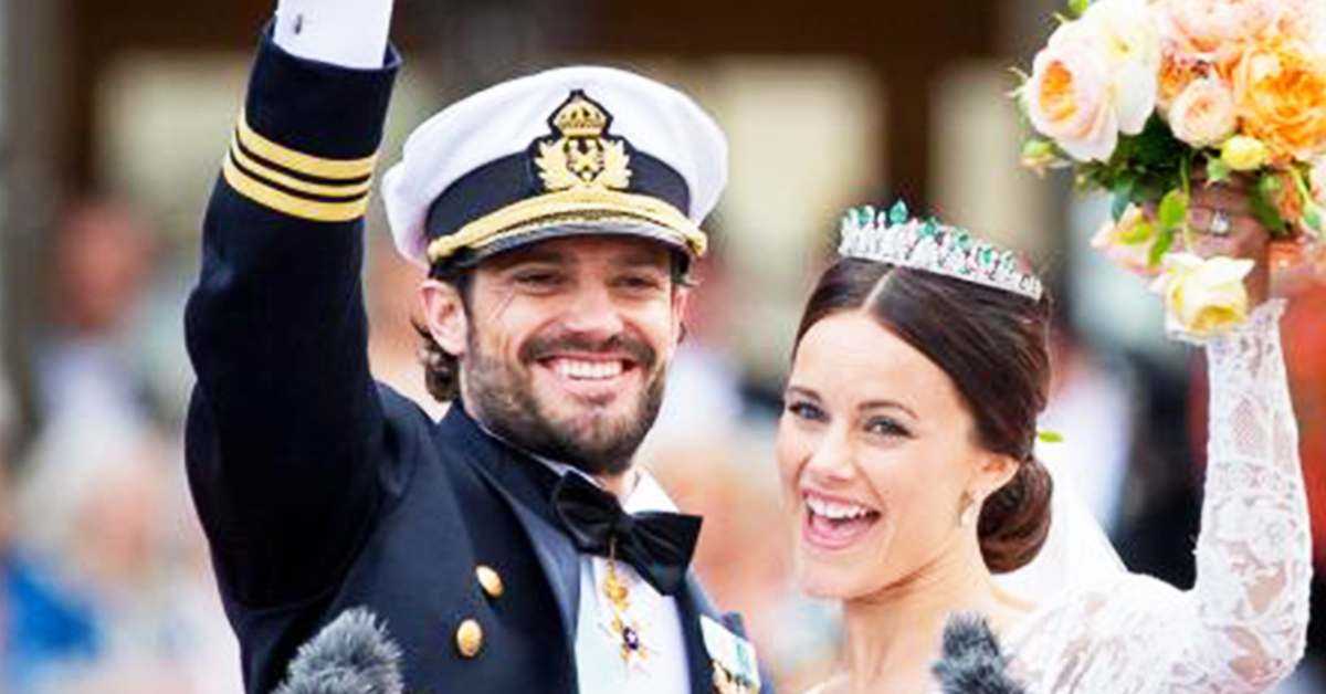Prince Carl Philip and Princess Sofia wedding