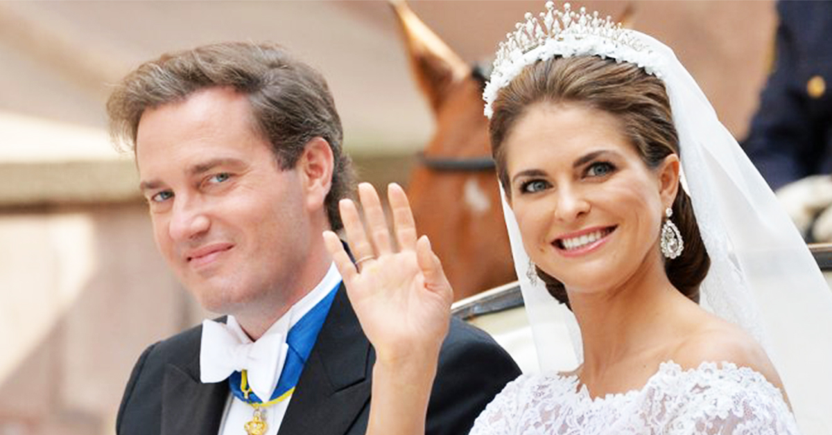 Princess Madeleine of Sweden wedding
