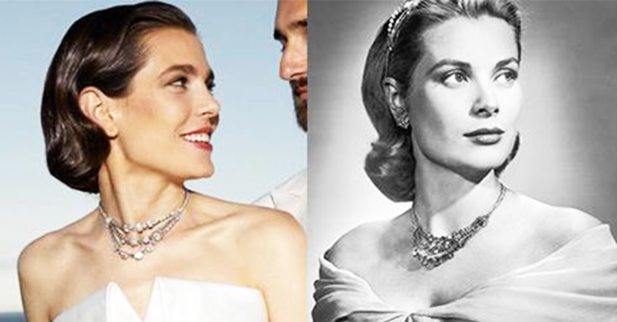 charlotte casaraghi and grace kelly