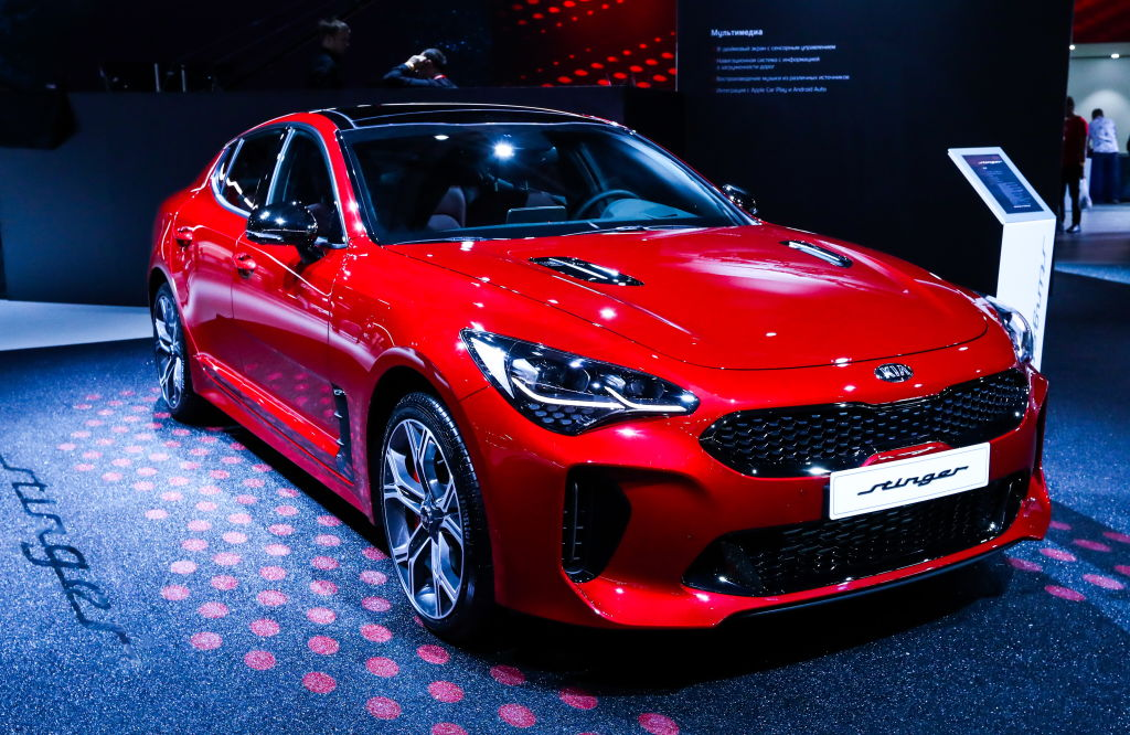 the kia stinger is a top safety pick