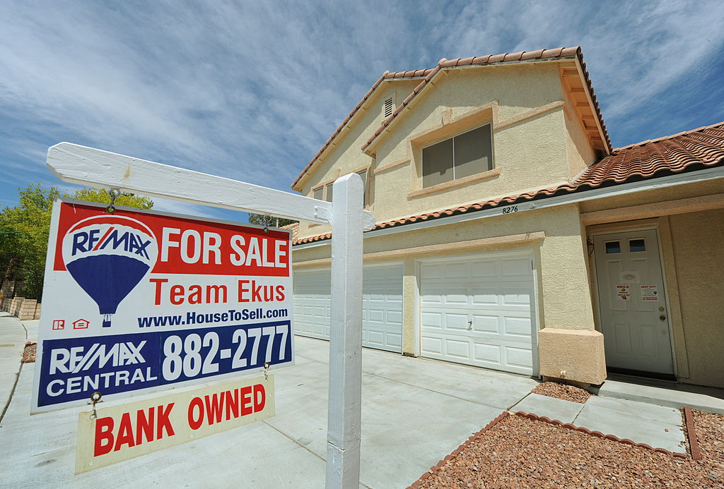Nevada A foreclosed and now bank owned house that is for sale in the Spring Valley