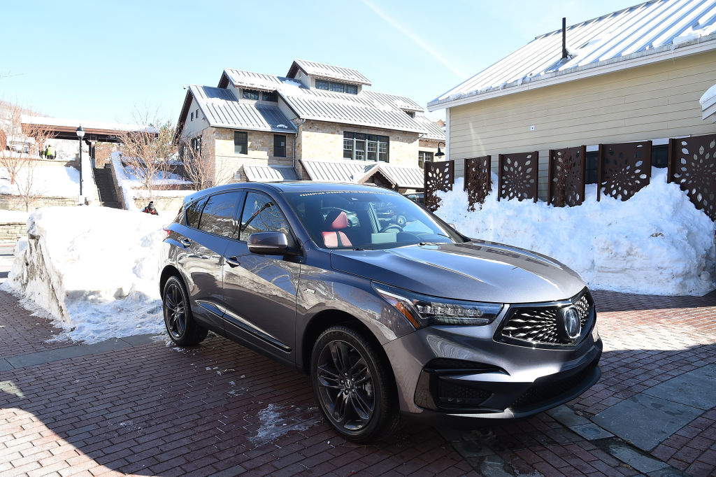 acura rdx can detect blind-spot you can't see while driving