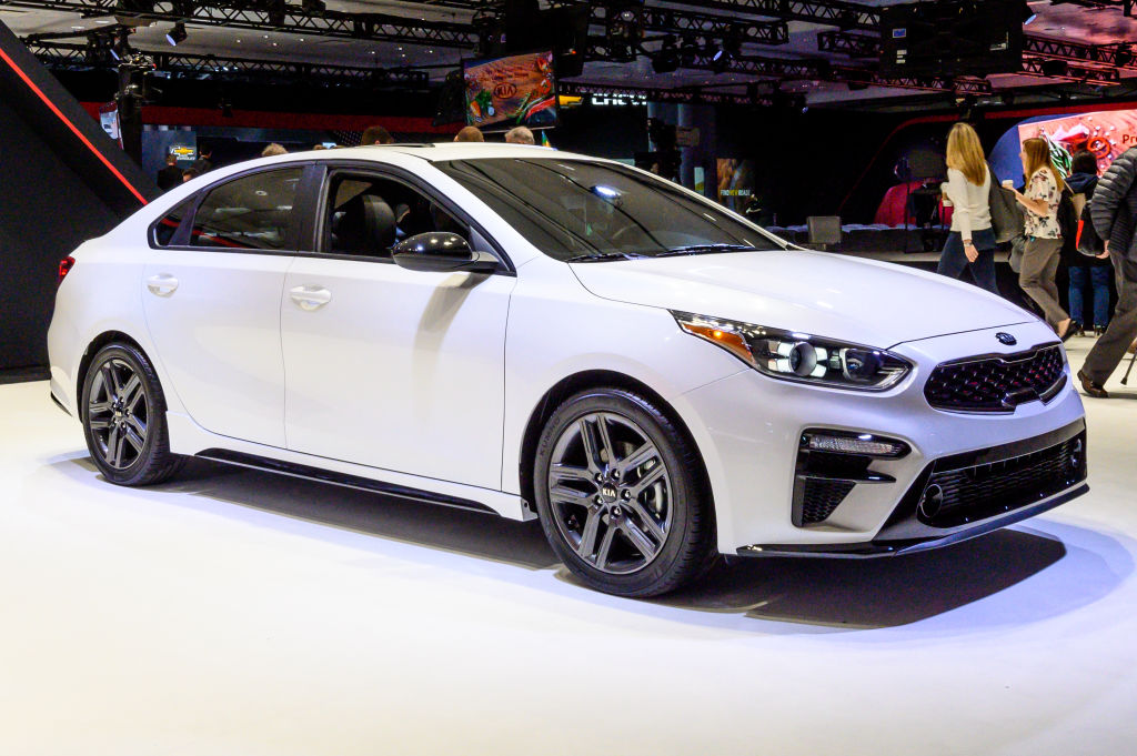kia forte is one of the safest cars on the road for its size
