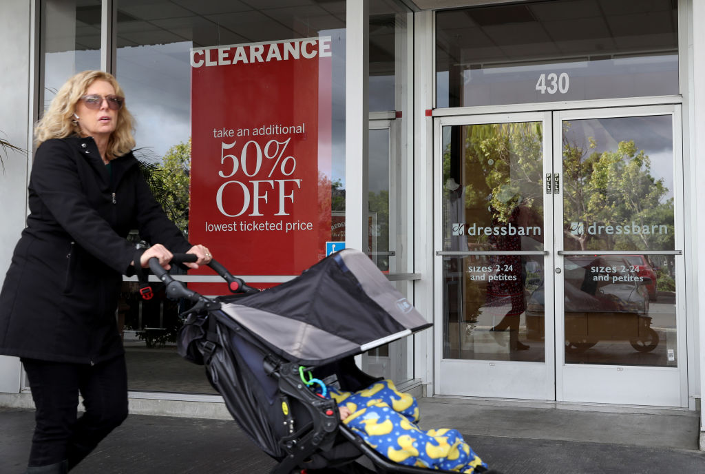 Dressbarn store on May 21, 2019 in El Cerrito, California. Ascena Retail Group announced plans to shutter all of its 650 DressBarn stores