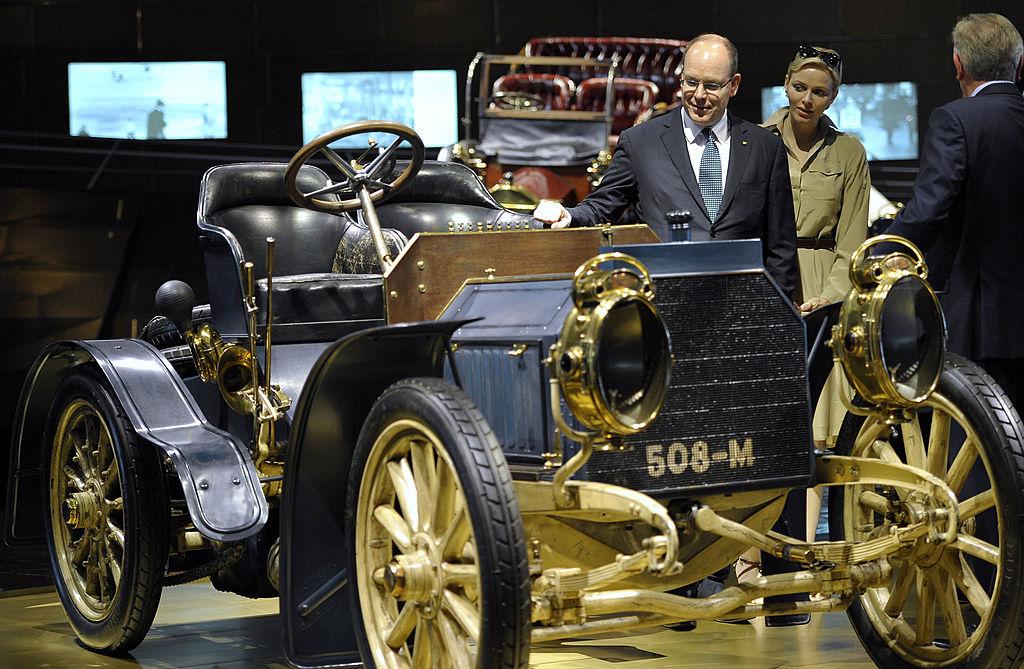 monaco's car museum Mercedes Simplex from1902