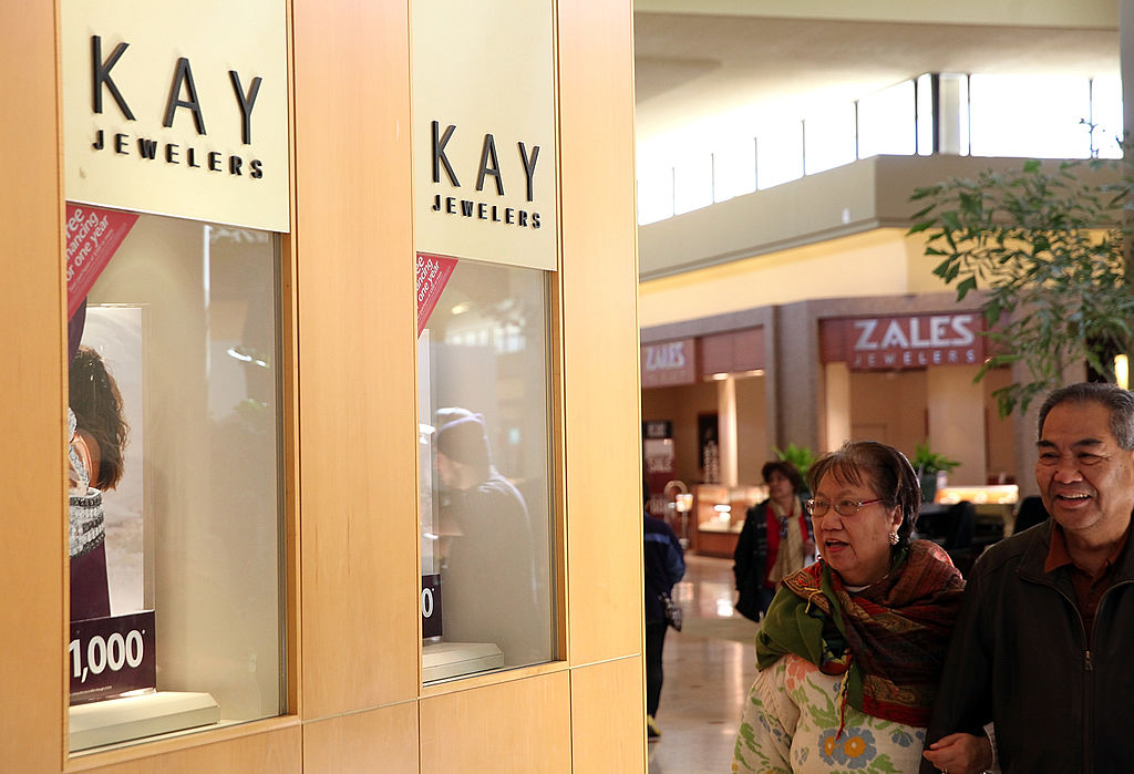 Kay Jewelers and Zales Jewelers stores