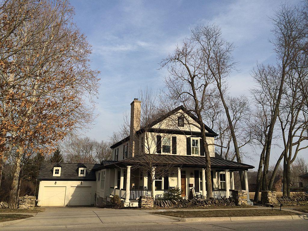 Ohio suburban home