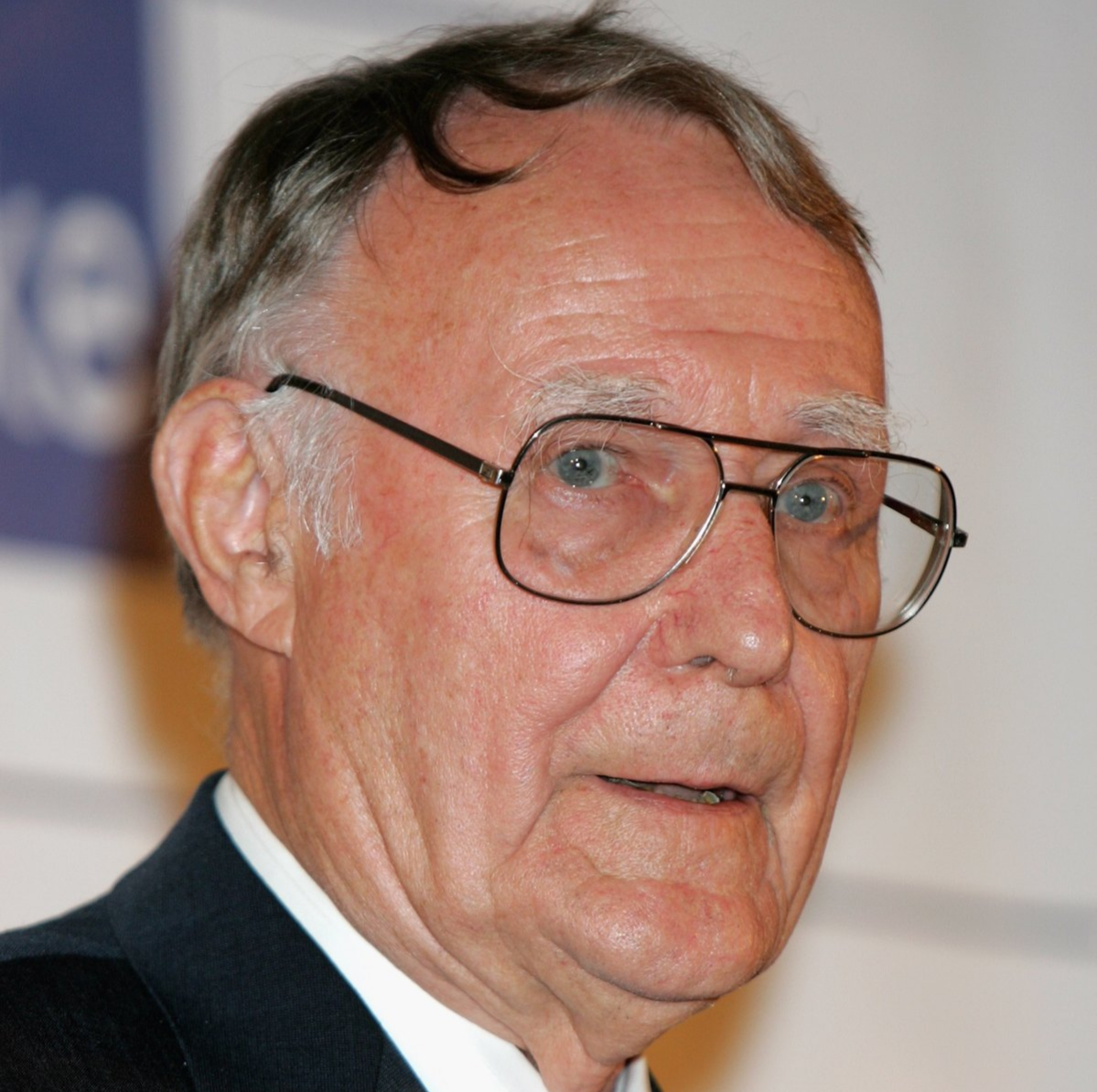 ngvar Kamprad, founder of IKEA, is seen after being presented the Lifetime Achievment Award by Princess Victoria of Sweden at the Swedish Chamber of Commerce Centenery Celebrations on May 12, 2006 in London, England.