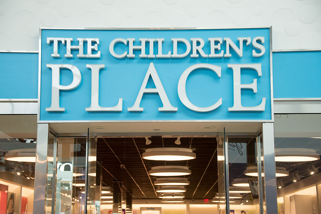 The Children's Place store entrance and signage