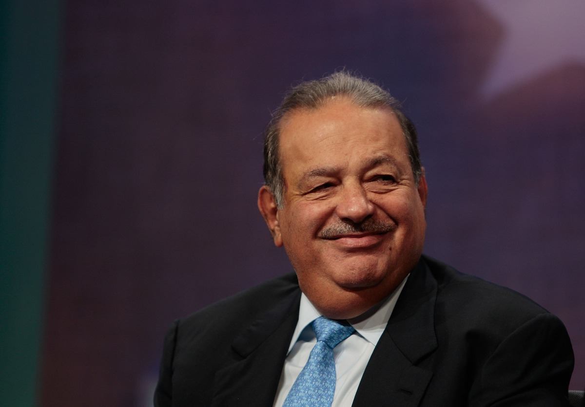 Mexican businessman Carlos Slim Helu, one of the world's richest men, smiles during a panel discussion about Latin America at the Clinton Global Initiative September 27, 2007 in New York.