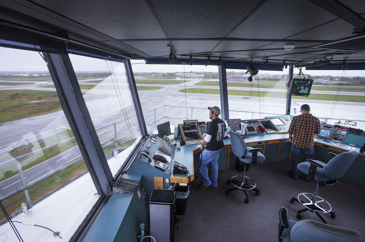 Air Traffic Controllers at Portland International