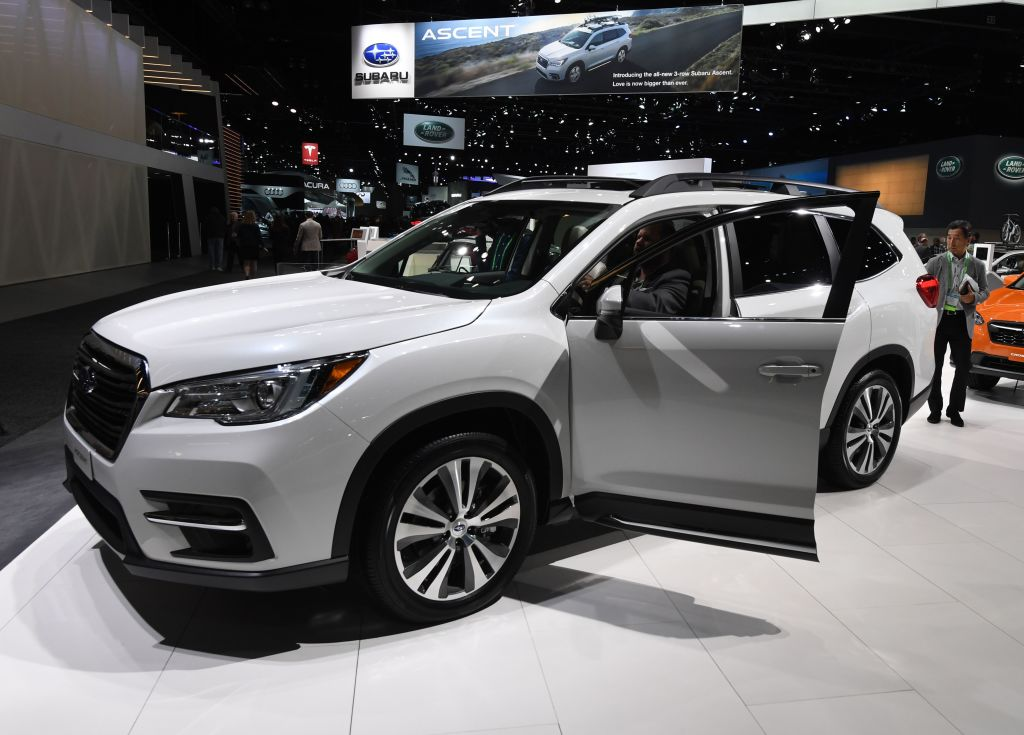 subaru ascent has a 360 degree camera for complete safety