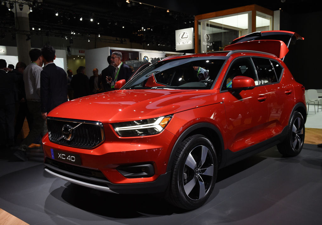 volvo xc40 can detect collisions before they happen