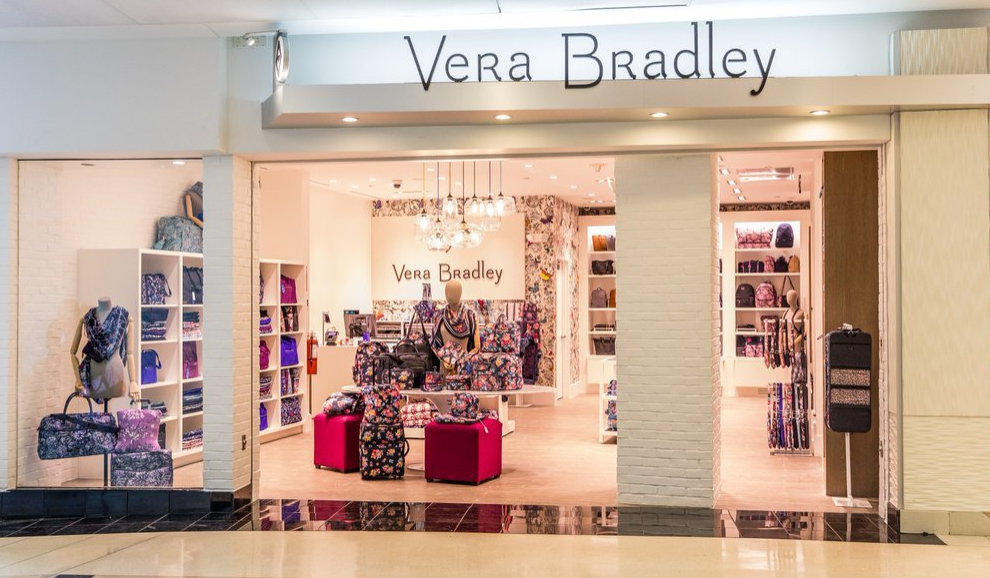 empty Vera Bradley storefront in an airport