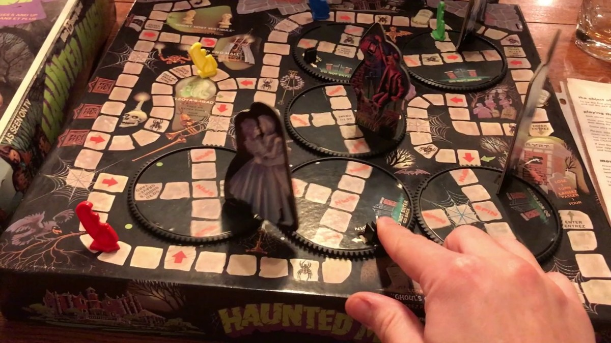 Disney's haunted mansion game from the 1970s