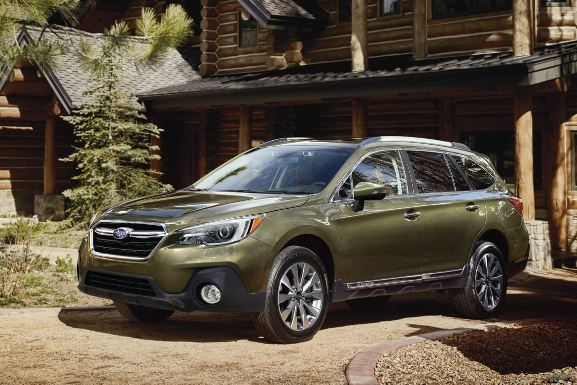 subaru outback leaves no safety feature behind