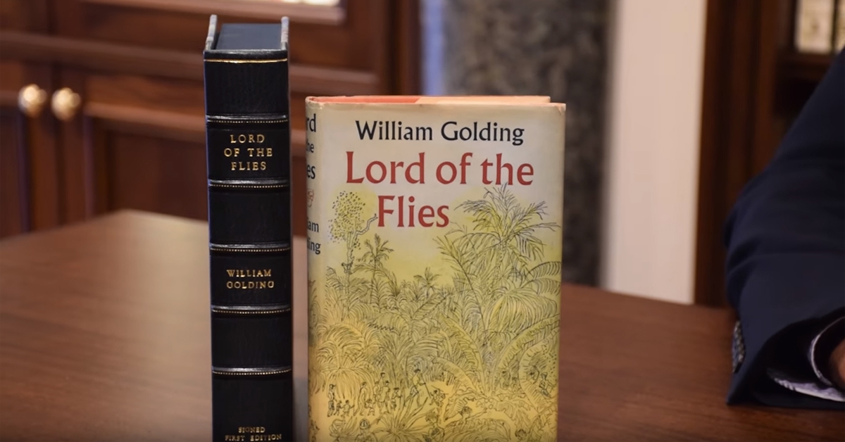 2 copies of lord of the flies first edition